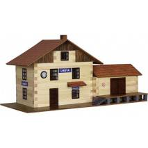 Walachia Vlakové nádraží - dřevěná stavebnice
