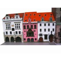 Vystřihovánka - Staroměstská radnice