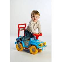 Yupee Odrážedlo auto JEEP modré