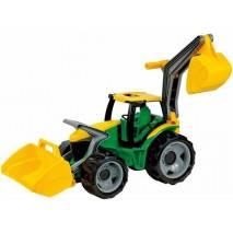 LENA Velký traktor se lžící a bagrem 65cm