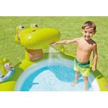 INTEX Dětský bazének Krokodýl 57431