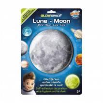 BUKI 3D Měsíc svítící dekorace na zeď