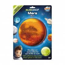 BUKI 3D Mars svítící dekorace na zeď