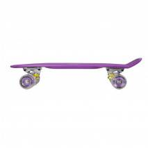 "NILS Pennyboard LED MARONAD 7008 PURPLE 22"" 56cm"