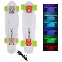 "Tempish Pennyboard LED I-BUFFY USB AKU 22"" 55,5cm"