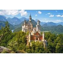 Puzzle 1500 dílků - Neuschwanstein, Germany 151424