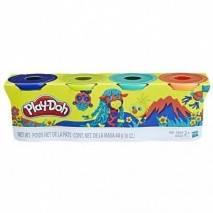 Hasbro Play-Doh Modelína 4 barvy (ŽIRAFA) 448g