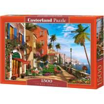 Puzzle 1500 dílků - Terasa u moře 151592