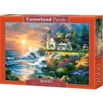 Puzzle 2000 dílků - Maják za soumraku 200528