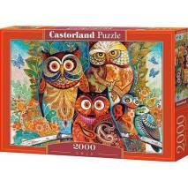 Puzzle 2000 dílků - Sovy 200535