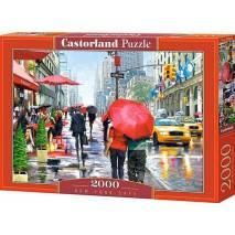 Puzzle 2000 dílků - Procházka po New Yorku 200542