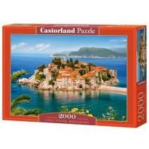 Puzzle 2000 dílků - Svati Stefan Montenegro 200580