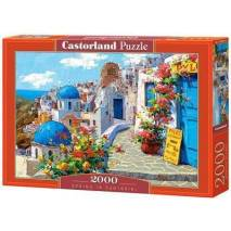 Puzzle 2000 dílků - Jaro na Santorini 200603