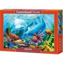 Puzzle 2000 dílků - Život v oceánu 200627