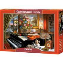 Puzzle 2000 dílků - Černý klavír 200641