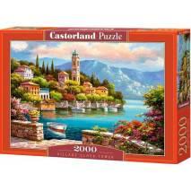 Puzzle 2000 dílků - Přístav a věž s hodinama 200696