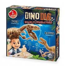 BUKI DinoDIG vykopávka 2 predátorů