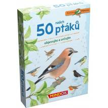 Mindok Expedice příroda: 50 našich ptáků