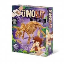 BUKI DinoKIT vykopávka a kostra Triceratops