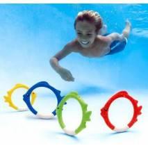 INTEX Kroužky rybky pro potápění 55507