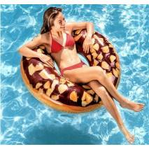 INTEX Kruh Nutty Chocolate donut 114cm 56262