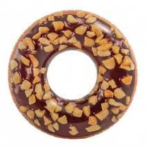 INTEX Kruh Nutty Chocolate donut 114cm 56262