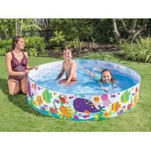 INTEX Bazén pevný Velryby 183x38cm 56452
