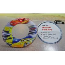 INTEX Nafukovací kruh Cars 51cm 58260
