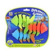 Gumové rybičky na potápění 3ks