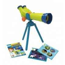 BUKI MiniScience Teleskop Stereo 15x zoom