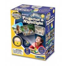 Zvířecí projektor a noční světlo