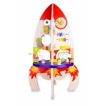 Dřevěný hrací stůl Raketa