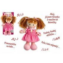 Panenka Verunka 20cm - mluví česky