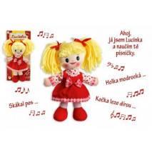 Panenka Lucinka 30cm - zpívá česky