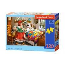 Puzzle 120 dílků - Červená karkulka 13227
