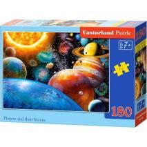 Puzzle 180 dílků - Planetky 18345