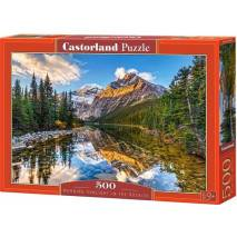 Puzzle 500 dílků - Východ slunce nad horami 52455