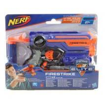 Hasbro NERF ELITE FireStrike s laserovým zaměřováním MODRÁ