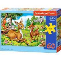 Puzzle 60 dílků - Koloušek s maminkou 66049