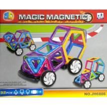Magnetická stavebnice Magic Magnetic 32ks