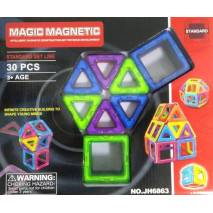 Magnetická stavebnice Magic Magnetic 30ks