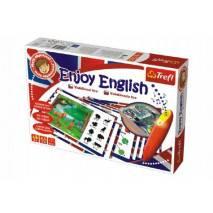 Trefl Malý objevitel Enjoy English + kouzelná tužka