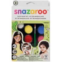 Snazaroo Velká sada obličejových barev - MIX