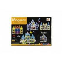 Magnetická stavebnice Domeček 75 dílků