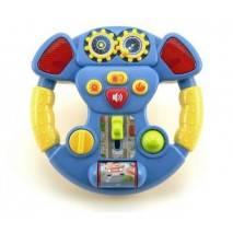 Dětský hudební volant, zvuky a světlo