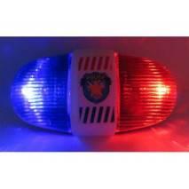 Policejní světlo na kolo se zvukem
