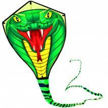 Létací drak nylonový KOBRA 8m