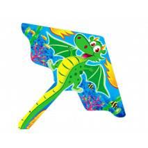 Létací drak nylonový DRÁČEK s ocasem