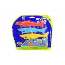 Žraloci-torpéda na potápění 3ks