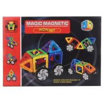 Magnetická stavebnice Magic Magnetic 16ks AUTA